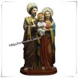 Вероисповедные статуи Иисус Polyresin деталей античные вероисповедные (IO-ca011)