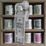 ドルのトイレットペーパーのお金によって印刷されるトイレットペーパー