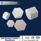 Плитки шестиугольника глинозема керамики Chemshun для износоустойчивого используемого в угольной шахте