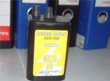 Bateria resistente recarregável da lanterna do carbono do zinco da bateria de 4r25 6V