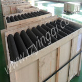Mine Transportationのためのコンベヤーの重義務Impact Roller Rubber Disc Guide Side Rubber Rings Weigh HDPE Poly Idler Roll Roller