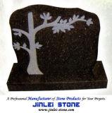 Headstone naturale intagliato di angelo della pietra del granito per la pietra tombale dei monumenti