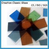 세륨 & ISO9001를 가진 건물 장식적인 유리를 위한 색깔 또는 공간 사려깊은 유리