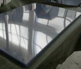 Hoja sacada rígida clara del PVC