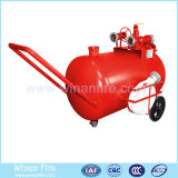 Carro móvel do tanque da espuma para a proteção de incêndio