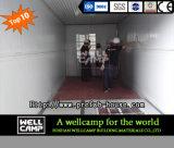 Casa prefabricada del envase del paquete plano de Wellcamp
