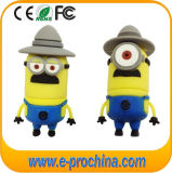 Zacht pvc Minions USB Flash Drive voor Promotional Items (EG. 566)
