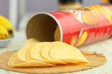 Pleines pommes chips fraîches matérielles d'acier inoxydable faisant la machine