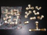 금관 악기 관 이음쇠 - 똑바른 male형 커넥터 Pex 알루미늄 Pex 플라스틱 관 이음쇠