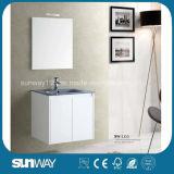 Gabinete de banheiro branco do MDF do lustro elevado novo da pintura (SW-1310)