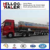3 camion-citerne d'huile/carburant d'alliage d'aluminium des essieux 42000L