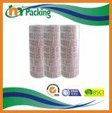 De plakband van de Glasheldere Verpakking BOPP