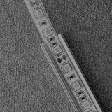Perfil de alumínio para a canaleta da montagem da barra clara do diodo emissor de luz