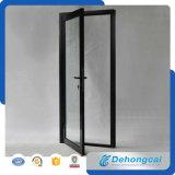 Kundenspezifisches Entwurf kombiniertes Flügelfenster-Doppelt-Glasaluminiumfenster und Tür