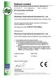 Cilindro hidráulico para a máquina escavadora R215-9 de Hyundai