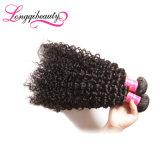 Fabrik kundenspezifische Qualitäts-indisches Haar lockige Remy Jungfrau