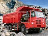 Тележка HOWO HOWO минируя 70 тонн тележки сброса