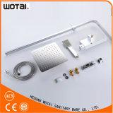 Wotai Squre Chrom-fertiger thermostatischer Dusche-Mischer
