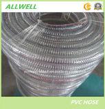 Belüftung-Plastik verstärkter Stahldraht-Schlauchleitung-Garten-Wasser-Schlauch