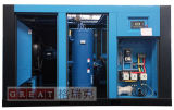 Compressore d'aria rotativo della vite ad alta pressione dei rotori di raffreddamento ad aria