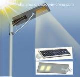 80W 세륨을%s 가진 통합 LED 태양 가로등