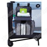 """"""" el baño colgante del carrito del pañal del esencial del bebé 9X17 juega a organizador del cuarto de niños"""