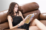 ホーム家具のリクライニングチェアの革ソファーモデル915