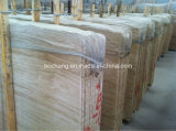 Unfilled White Beige Travertine для Tile Slab