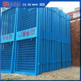 2 PCS Construction Elevator Safety Door for Construction Site