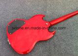 Специальные гитара Sg 400 красного цвета моста Tremolo качества электрическая