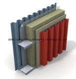 Fachada de parede de cortina Isolamento térmico Lã de rocha (isolamento de construção)