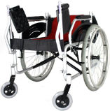 Foldable屋外のアルミ合金の手動車椅子