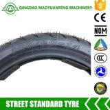 Neumático de la motocicleta del estándar 100/80-14 de la calle