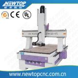 máquina del ranurador del CNC de la carpintería del eje de la máquina de grabado 3D 4 (1325)