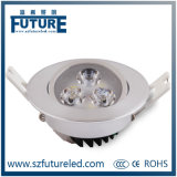 Projector do diodo emissor de luz de RoHS Approved SMD5730 3W do CE, diodo emissor de luz Spot Lamp