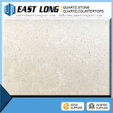 Da cor de mármore branca da veia da alta qualidade pedra artificial de quartzo
