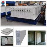 Máquina estacionaria de moldeo de Tianyi EPS Junta de sandwich de cemento