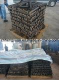 Carvões amassados do Husk do arroz que dão forma à máquina com CE