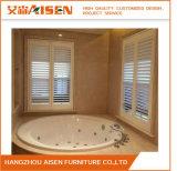 Fabrikdirekter Basswood-hölzerner Plantage-Blendenverschluß für Badezimmer