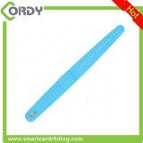 Wristband ajustável clássico do silicone 1k de RFID MIFARE