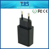 Carregador aprovado da parede do USB do FCC de RoHS do Ce para o telefone