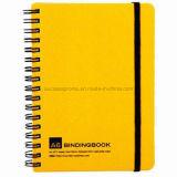 Cuaderno modificado para requisitos particulares A6 del atascamiento espiral del alambre del uso de la oficina