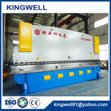 Machine à cintrer de feuille inoxidable en acier de plaque en métal avec le meilleur prix (WC67Y-400TX6000)