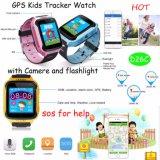 Vigilanza dell'inseguitore di GPS dei capretti con la torcia del LED e la macchina fotografica (D26C)