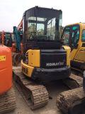 Mini excavatrice PC55 à vendre, excavatrices initiales bon marché utilisées de chenille de KOMATSU du Japon PC55 à Changhaï