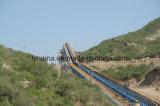 Transportador de correa químico del tubo de la manipulación de materiales/transportador de correa tubular/transportador de correa curvado