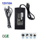 Au Plug BRITANNICO LED Power Supply dell'Ue di 18W 12V 1.5A S.U.A.
