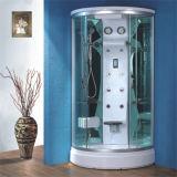 Cabina barata de la ducha del círculo del vidrio de desplazamiento del redondo completo del precio para la venta
