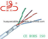 4 Cat5e FTP пары кабеля LAN/кабеля компьютера/кабеля данных/кабеля связи/тональнозвуковых кабеля/разъема