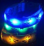 Colar do animal de estimação do colar da cinta da lâmpada de Pluto